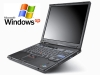 Tanie laptopy poleasingowe <br> IBM T40 1,4GHz / 512MB / 40GB / DVD / Win. XP Prof.